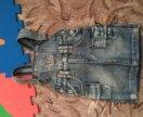 Комбинезон джинсовый на 1,5-3года