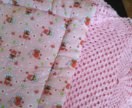 Подушка детская и пледик