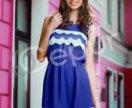 Летнее шифоновое платье