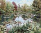 Гобелен «Сад Моне» (101×150)