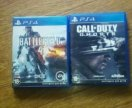 BETTLEFIELD 4 + CALL OF DUTY Ghosts