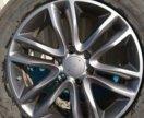 Литые диски R20 Nissan Patrol оригинал D0300-1LB2A