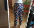 Цветные штаны, почти новые