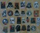 Star wars стикеры наклейки