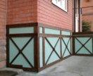 Отделка интерьера и фасада брашированной доской
