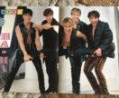 """Плакаты группы """"На-На"""" из 90-х"""