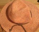 Летняя розовая шляпа