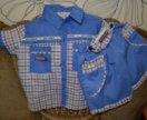 Комплект шорты рубашечка