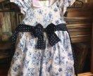 Платье на девочку 68-81