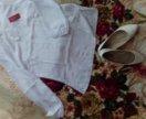 Новая блузка и туфельки