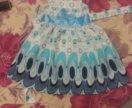 Отдам новое платья за два киндера. На рост 86