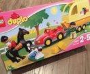 Lego Duplo Трейлер для лошадок Лего Дупло новый