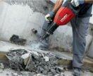 Демонтаж стен,вывоз строительного мусора,копка.