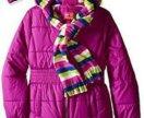 пальто на синтепоне Pink Platinum, на 3-4 года