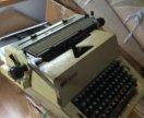 Пишущая машинка немецкая