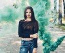 Цветной дым для уличных фото