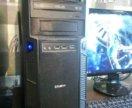 Крутой компьютер с большим монитором