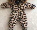 Детский комбинезон Moschino baby + угги