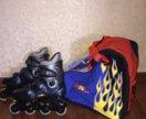 Новые Ролики Skate Pro размер 40 с сумкой