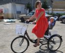 Велосипед для взрослых, трехколесный
