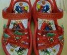 Резиновые сандали 22 размер
