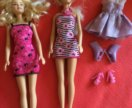 За две куклы под Барби с одежкой