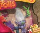 Фигурка Тролля на брелке с расческой Trolls Zuru
