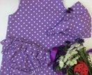 Летнее платье для девочки hand made