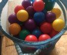 150 шариков для сухого бассейна intex