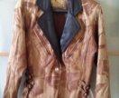 Кожаная куртка косуха 80-е