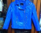 Куртка кожаная р 40-42