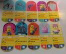 Карточки миньоны 30шт