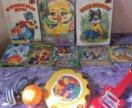 Книжки, игрушки пакетом