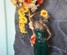 Статуэтка дама бронза