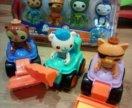 Октонавты игрушки на машинках