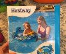 Новый надувной детский круг для купания