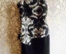 Платье по фигуре с разрезом