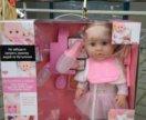 Красивая кукла Baby Toby аналог Беби Борн Baby Bo