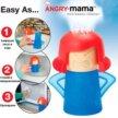 Очиститель микроволновки Angry Mama. Доставка