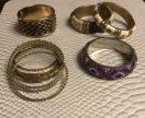 Бижутерия- браслеты, серьги, колье