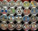 Монеты футбол