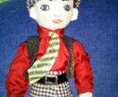 Кукла ручной работы Сэм стиляга
