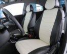 Hyundai Solaris 2 чехлы модельные экокожа