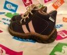 Детские кожаные ботинки из Чехии 23