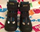 Детские зимние ботинки Ecco 22 размер