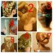 Укладки , плетение кос , прически