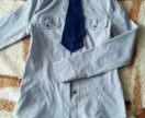 Блуза для школы с галстуком