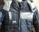 Зимняя куртка на мальчика 5-6лет
