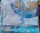 Постельное бельё на детскую кроватку