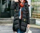 Куртка пальто женская длинная